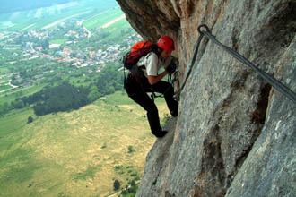 Hohe Wand Klettersteig : Klettersteig nachmittage