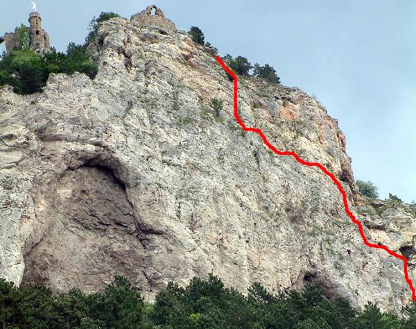 Klettersteig Türkensturz : Hegyvilág online klettersteig pittentaler