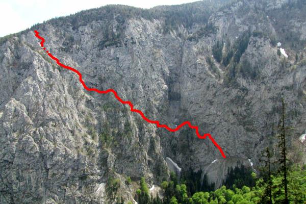 Klettersteig Rax : Klettersteig rax höllental teufelsbadstube und wachthüttelkamm