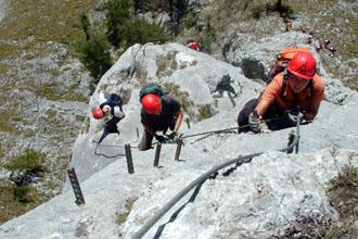 Franz Josef Klettersteig : Klettersteige tourendatenbank