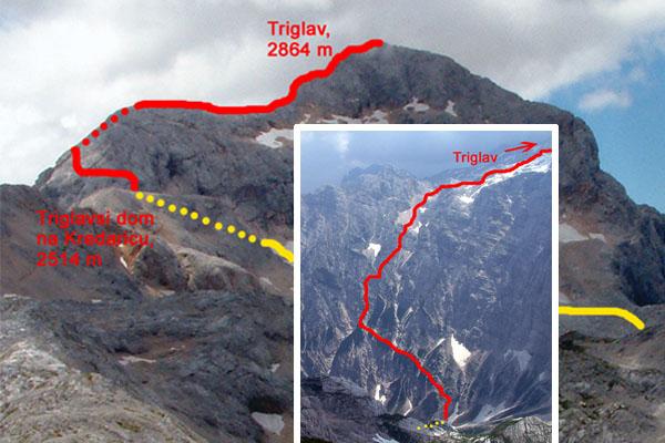 triglav túra térkép A hegyek szerelmesei..   Triglav 2864m (Slovenia)