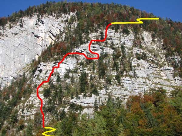 Klettersteig Hallstatt : Hegyvilág online galéria echernwand klettersteig