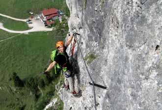 Klettersteig Ottenalm : Hegyvilág online galéria ottenalm direttissima klettersteig