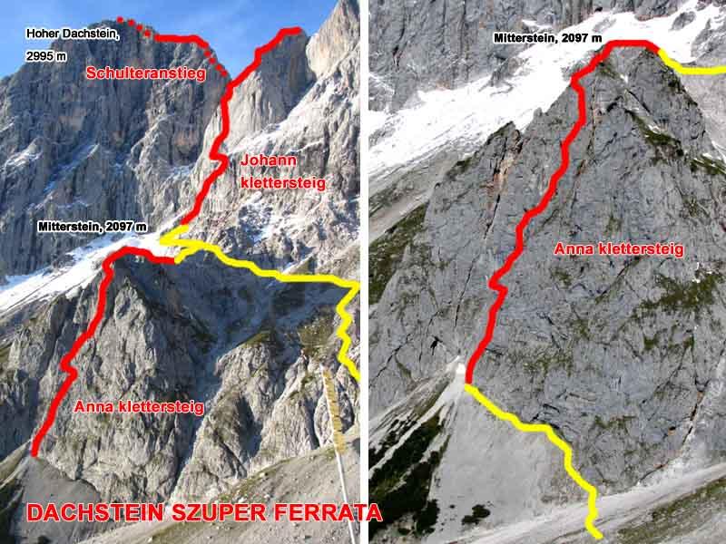 Klettersteig Map : Anna johann klettersteig topo bergfex d e
