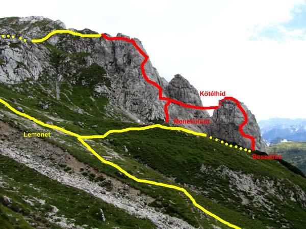 Klettersteig Däumling : Hegyvilág online » galéria klettersteig dÄumling